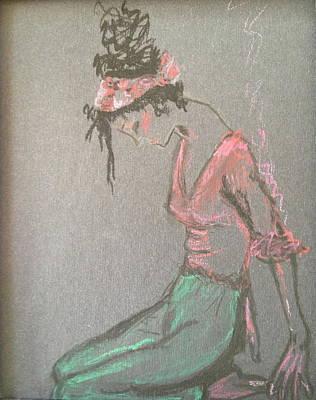Danced Art Print