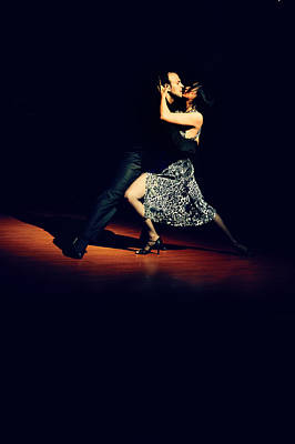 Photograph - Dance Of Passion. Argentine Tango by Jenny Rainbow