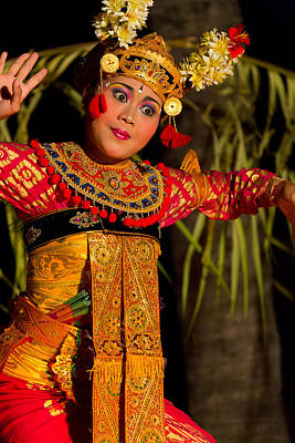 Dancer - Bali Art Print by Matthew Onheiber