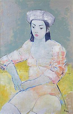 Dancer, 2004 Oil On Canvas Art Print by Endre Roder