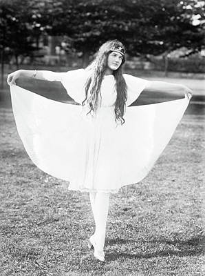 Photograph - Dancer, C1910 by Granger