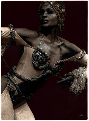 Photograph - Dancer Close Up by Ulf Sandstrom