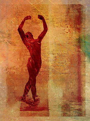 Dancer Print by David Ridley