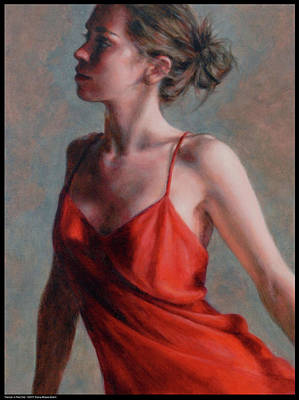 Painting - Dancer In Red Slip by Diana Moses