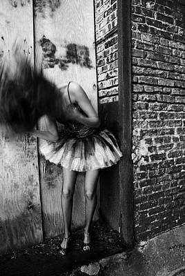 Dancer In The Alley Art Print