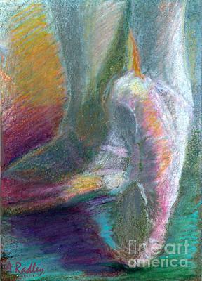 Dancer In The Doorway Art Print by Ann Radley