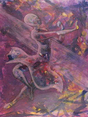 Painting - Dancer by Jack Malloch
