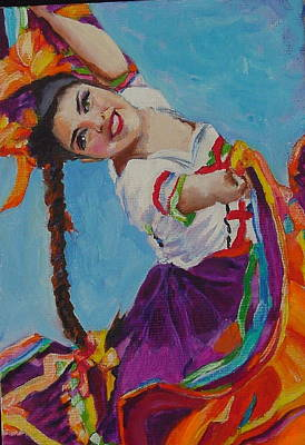 Painting - Dancer by Luz Perez