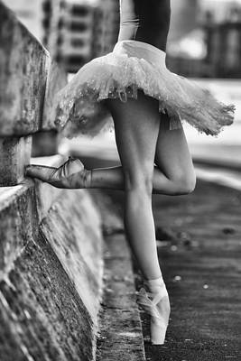Ballet Shoes Photograph - Dancer by Michael Groenewald