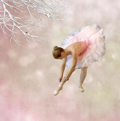 Ballet Dancers Digital Art - Dancer by Sharon Lisa Clarke
