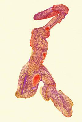 Dancer- #ss14dw016 Art Print by Satomi Sugimoto