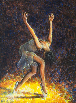 Painting - Dancer Viii by Nik Helbig
