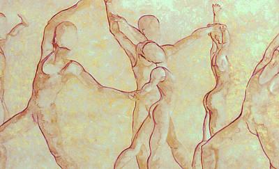 Dancers - 10 Art Print by Caron Sloan Zuger