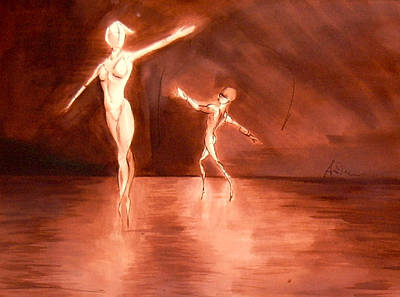 Painting - Dancers by Andrew Sandberg