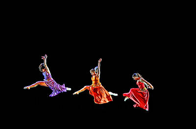 Photograph - Dancers In Flight by Bill Howard