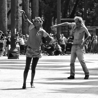 Photograph - Dancers In Sao Paulo by Julie Niemela