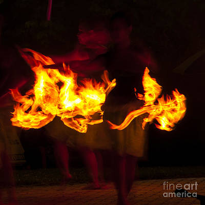 Scifi Portrait Collection - Dancers in the Flame by Mandy Judson