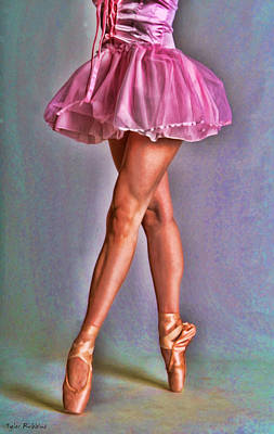 Dancer's Legs Art Print
