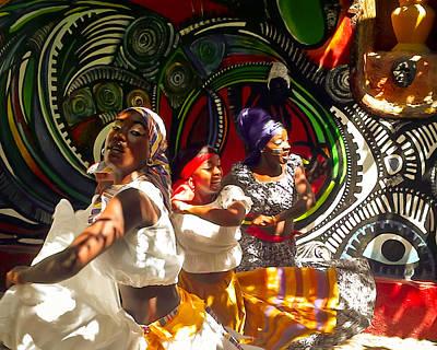Dancers Of Callejon De Hamel Art Print by Trish Oliveira