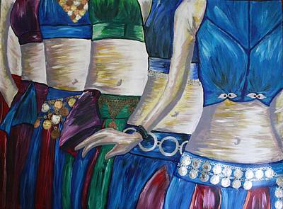 Dance Painting - Dancers Of Endless by Rebecca Schoof