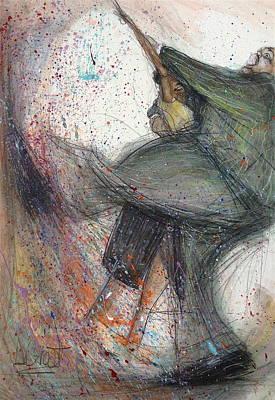 Dancin' Up A Storm Art Print