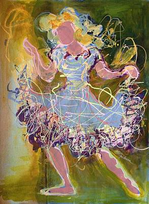 Painting - Dancing 1 by Marilyn Jacobson