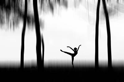 Graceful Photograph - Dancing by Bocah Bocor