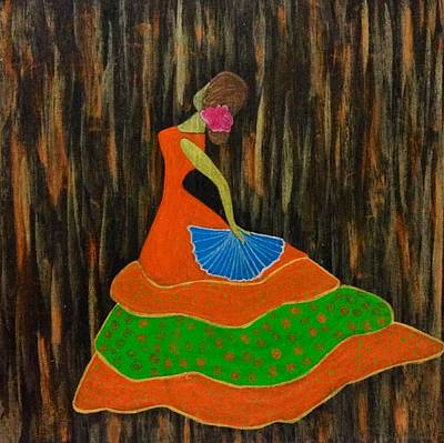 Painting - Dancing Doll by Surbhi Grover