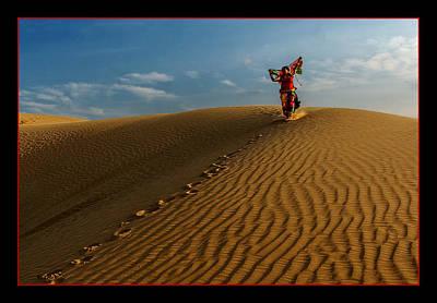 Dancing Dunes Original by Mukesh Srivastava