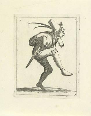 Dancing Fool, Pieter Jansz Art Print by Pieter Jansz. Quast And Frederik De Wit