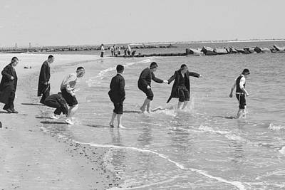 Photograph - Dancing Hasidm Coney by Dave Beckerman