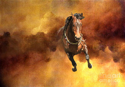 Dancing Free I Art Print by Michelle Twohig
