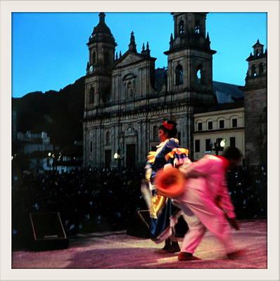 Dancing In Bogota Print by Daniel Gomez