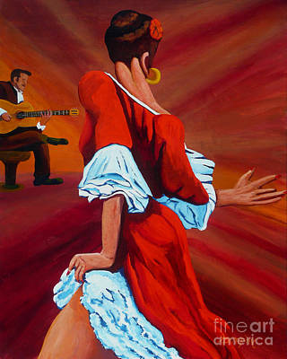 Flamenco Guitar Paintings Page 2 Of 3