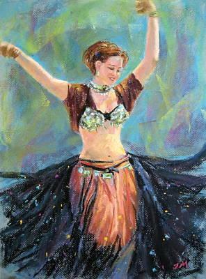 Dancing In The Air Art Print