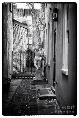 Dancing In The Alley Art Print by John Rizzuto