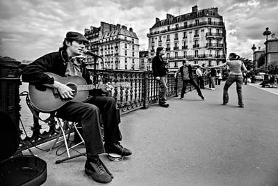 Photograph - Dancing In The Streets Of Paris / Paris by Barry O Carroll