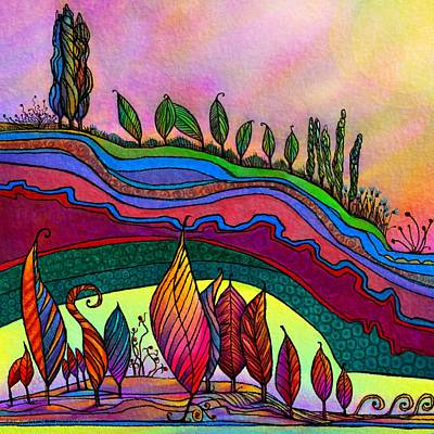 Dancing In The Sunshine Art Print