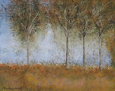 Dancing Leaves Art Print by Tim Townsend