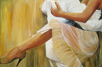 Painting - Dancing Legs by Sheri  Chakamian