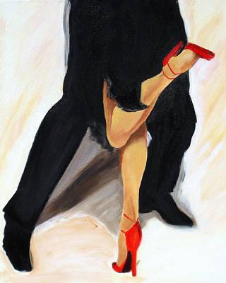 Painting - Dancing Legs II by Sheri  Chakamian