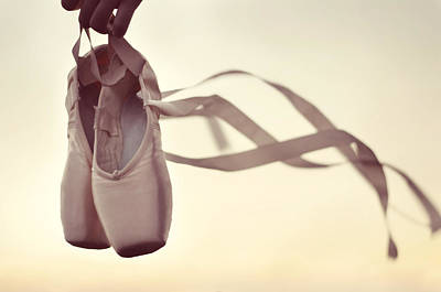 Pointe Shoes Photograph - Dancing On The Wind by Laura Fasulo