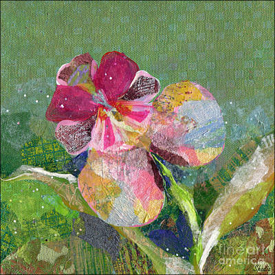 Orchids Painting - Dancing Orchid IIi by Shadia Derbyshire