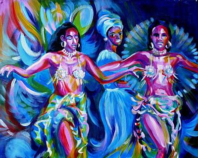 Dancing Panama Art Print by Anna  Duyunova