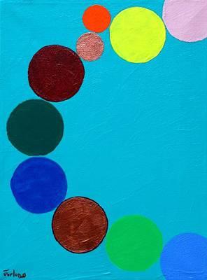 Dancing Planets Art Print by Jim  Furlong
