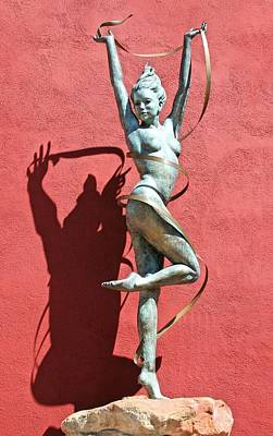 Photograph - Dancing Scupture by Jane Girardot