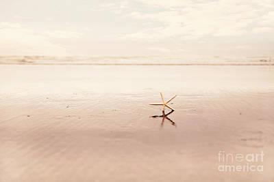 Dancing Starfish Beach Photograph Art Print by Sylvia Cook