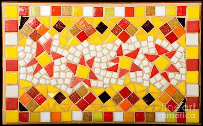 Photograph - Dancing Stars Mosaic by Lou Ann Bagnall
