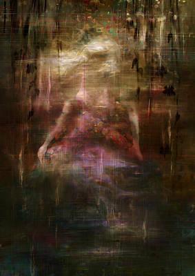 Hurt Digital Art - Dancing The Dark by Rachel Christine Nowicki