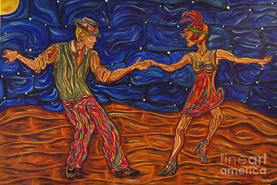 Painting - Dancing The Night Away by Susan Cliett